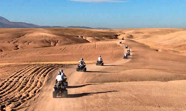 1 day marrakech desert tour to Agafay desert
