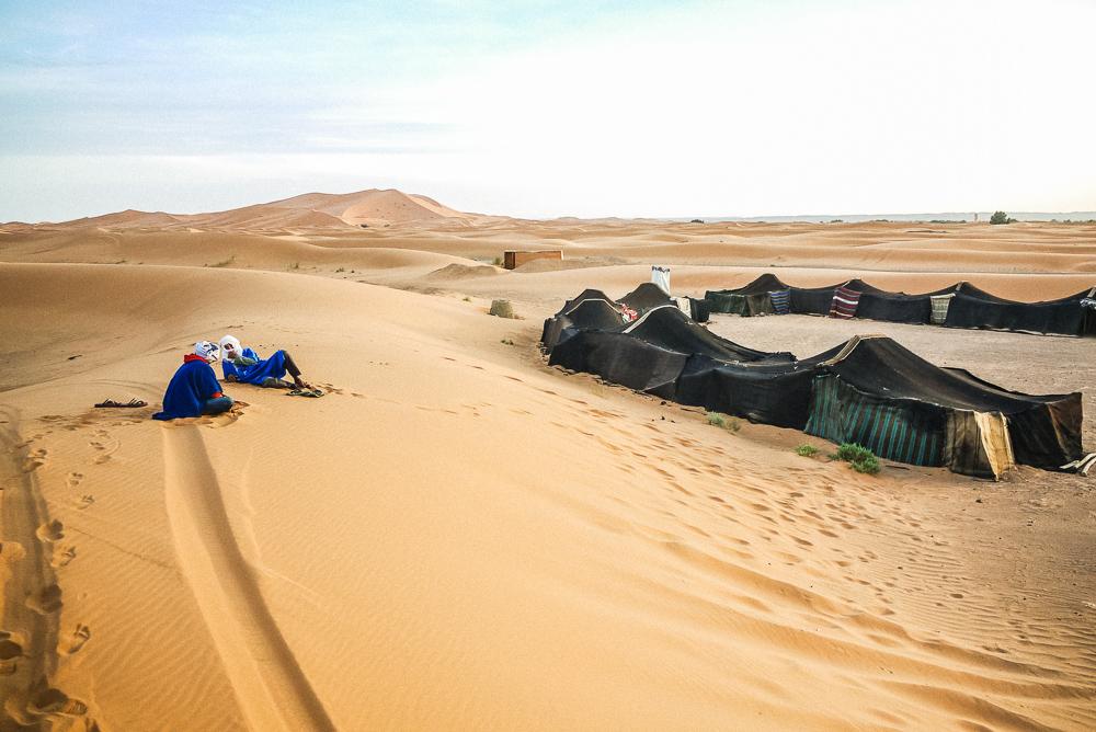 3 Days Marrakech to Fes desert tour via Merzouga dunes